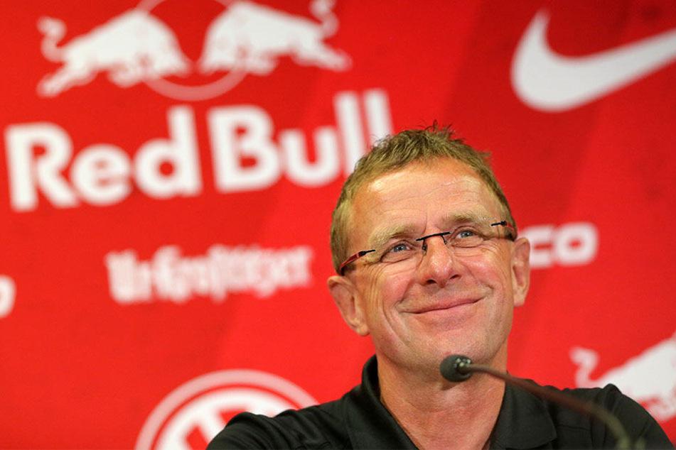 """""""Wir werden uns sicher auch mal reiben"""", sagt Nagelsmann über RB-Sportdirektor Ralf Rangnick (60)."""
