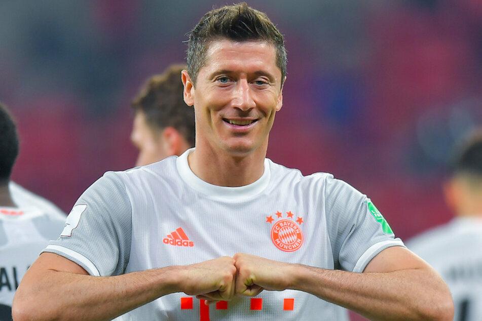 Weltfußballer Robert Lewandowski (32) darf sich über eine der höchsten zivilen Auszeichnungen Polens freuen. (Archiv)