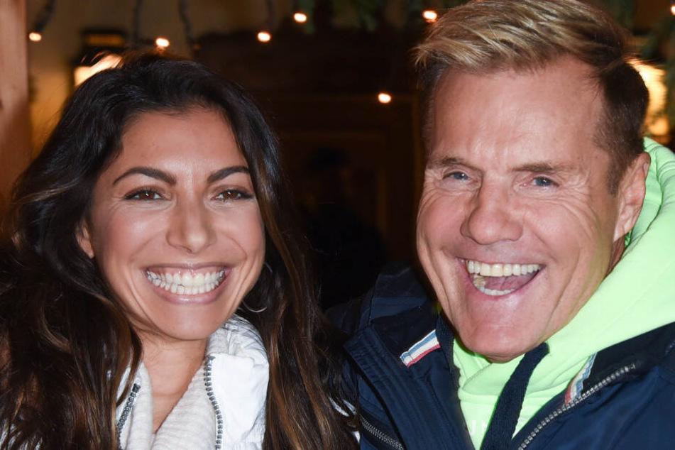 Sie kümmern sich gemeinsam um den Instagram-Kanal: Dieter Bohlen und seine Lebensgefährtin Carina.