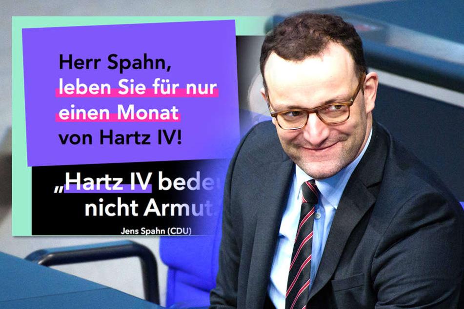 """Das wünschen sich schon 85.000 Deutsche! Spahn soll """"HARTZen"""""""