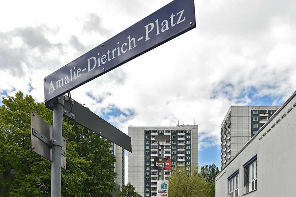 Eine zweite Waffenverbotszone könnte rund um den Amalie-Dietrich-Platz entstehen.