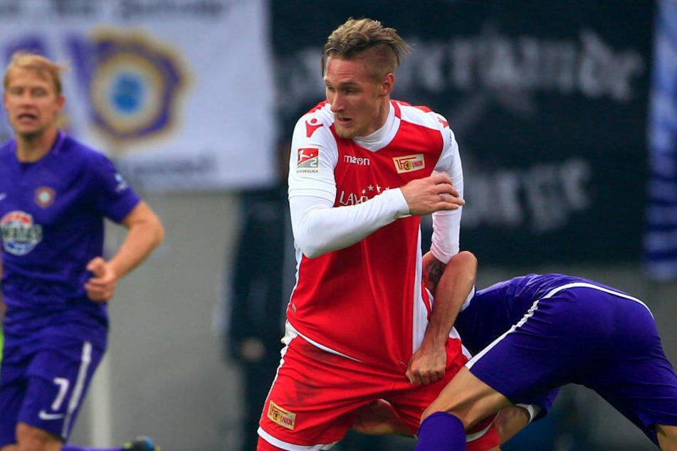 Sebastian Polter wird Union Berlin sechs bis acht Wochen fehlen.