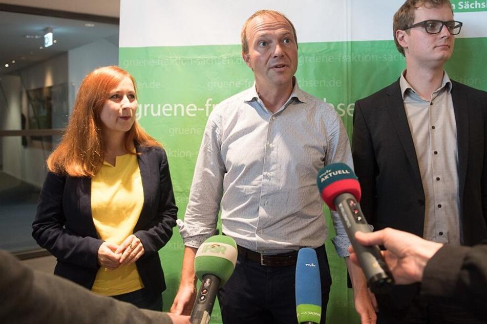 Vor der Regierungsbildung: Grüne wählen Chefs auf Zeit