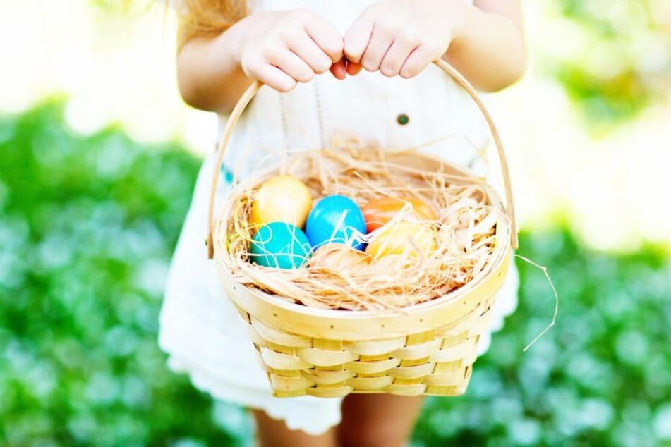 Der Eier-Suche im Freien steht also nichts im Wege. (Symbolbild)