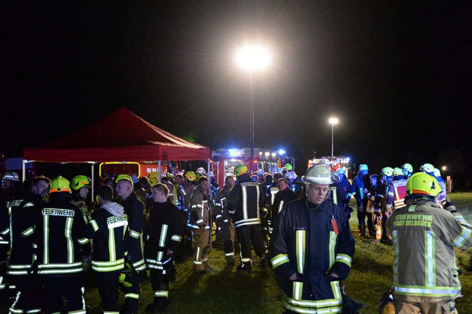 Knapp 150 Feuerwehrmänner waren im Einsatz.