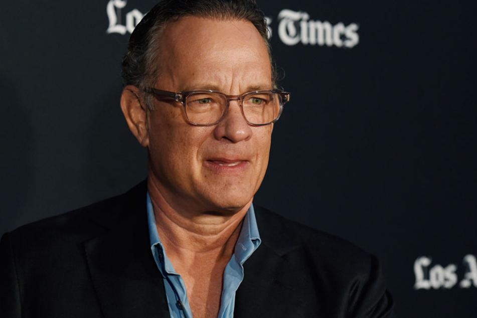 Tom Hanks dreht derzeit einen neuen Film.