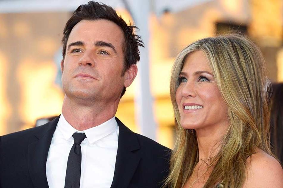Justin Theroux und Jennifer Aniston galten lange als krisenfreies Paar.