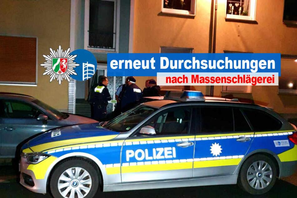 Ein Originalbild der Razzia von der Polizei Oberhausen.