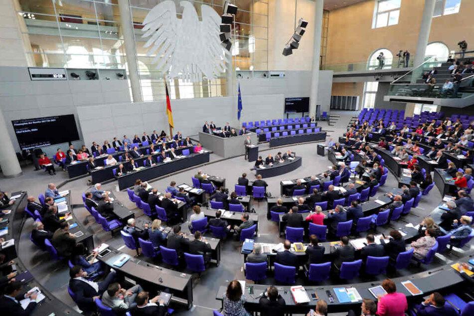 Die Haushaltsdebatte am Dienstag im Berliner Bundestag.