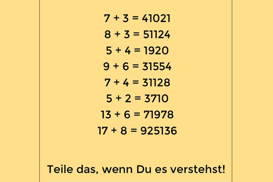 Na? Konntet ihr das Rätsel lösen?