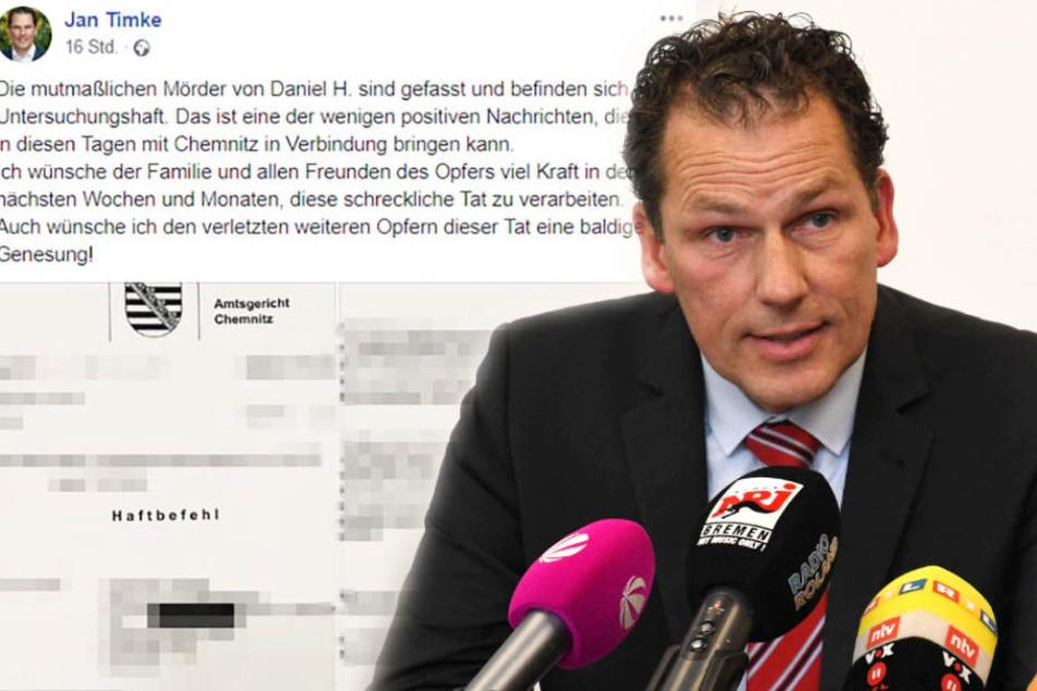 Polizist: Ich bin nicht Urheber des Chemnitzer Haftbefehl-Leaks