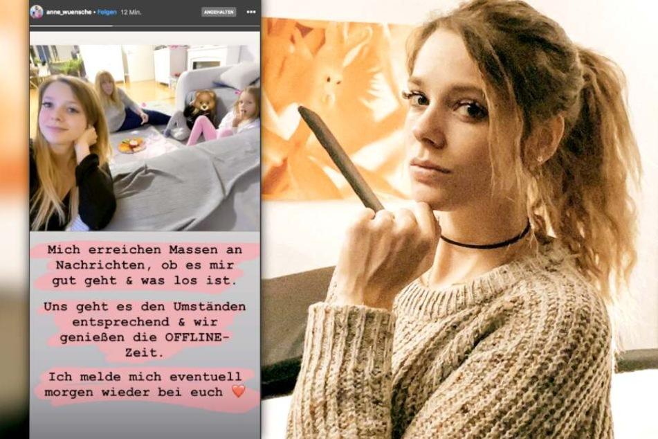 Anne Wünsche (28) meldet sich nach dem heftigen Instagram-Beef zurück.