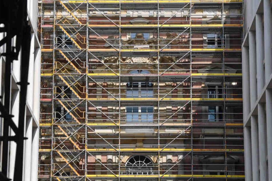 Bis Ende 2019 soll der Wiederaufbau des Berliner Schlosses abgeschlossen sein.