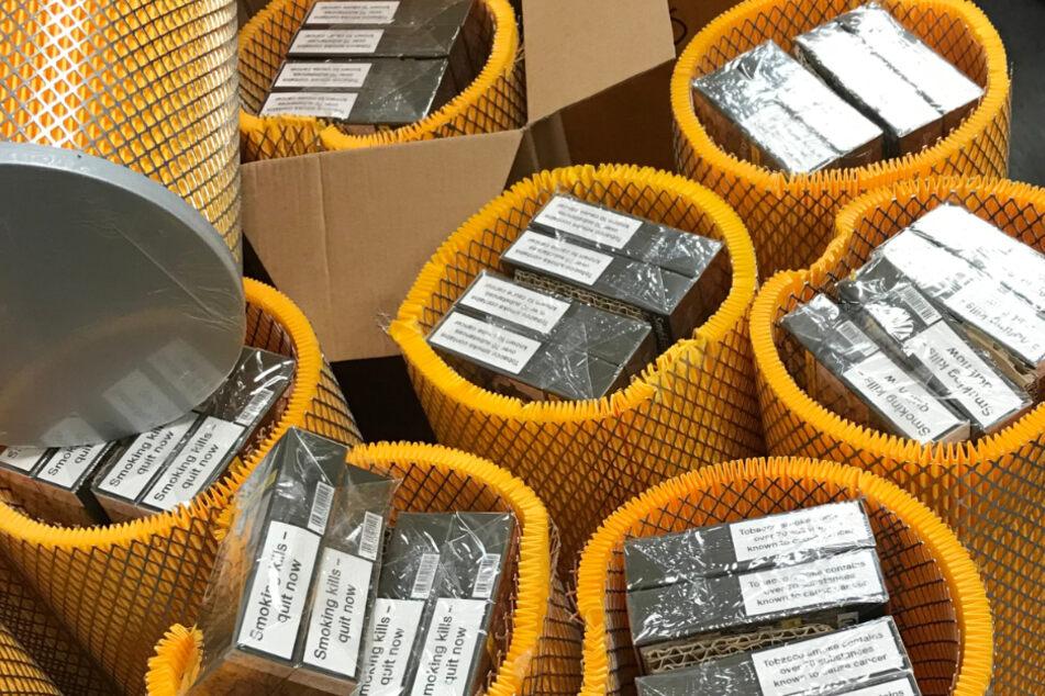 Krasser Fund: 1,8 Millionen Schmuggel-Zigaretten sichergestellt