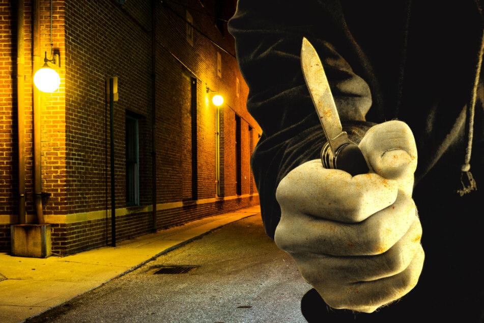 Die Messerattacke ereignete sich in der Nacht in der Innenstadt von Wiesbaden (Symbolbild).