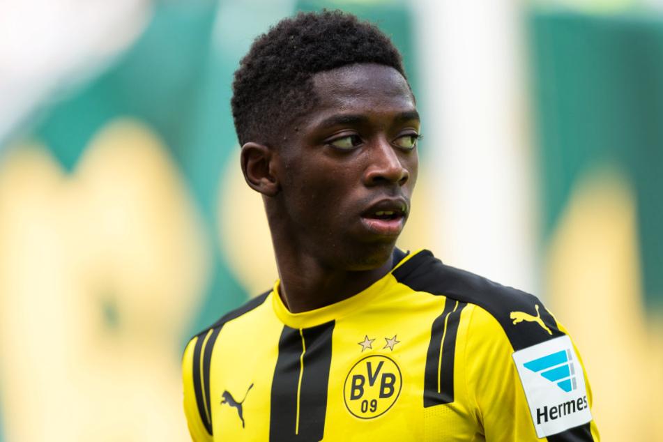Ousmane Dembele soll bei Manchester United (wieder) in den Fokus gerückt sein.