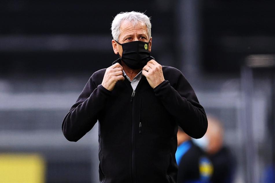 BVB-Coach Lucien Favre wurde von Emre Can gelobt.