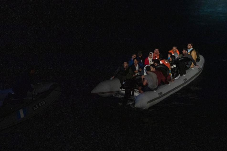 Migrant erfriert vor Lesbos: Eisige Temperaturen in der Ägäis