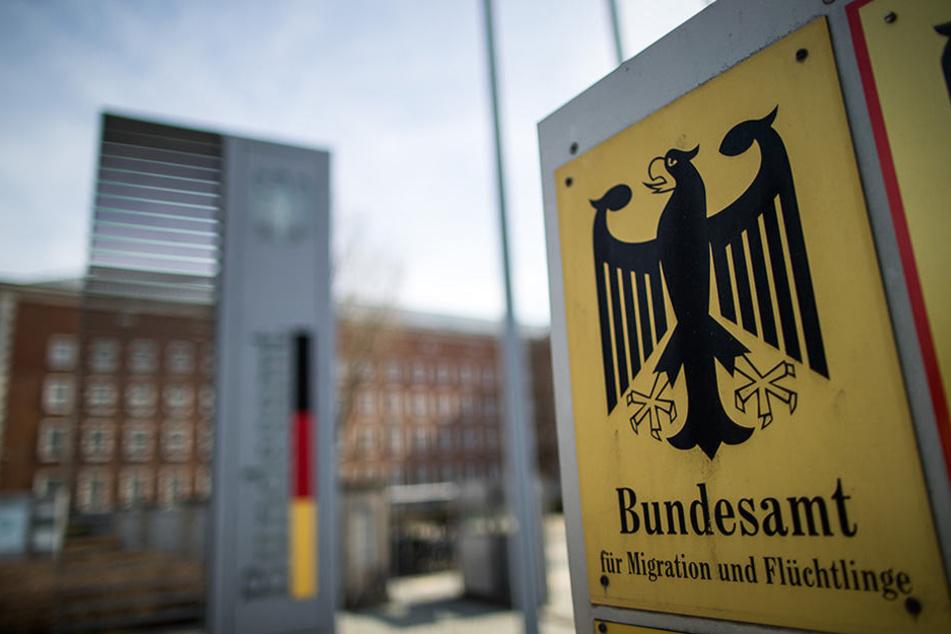 Das Bundesamt für Migration und Flüchtlinge in Nürnberg, Bayern.