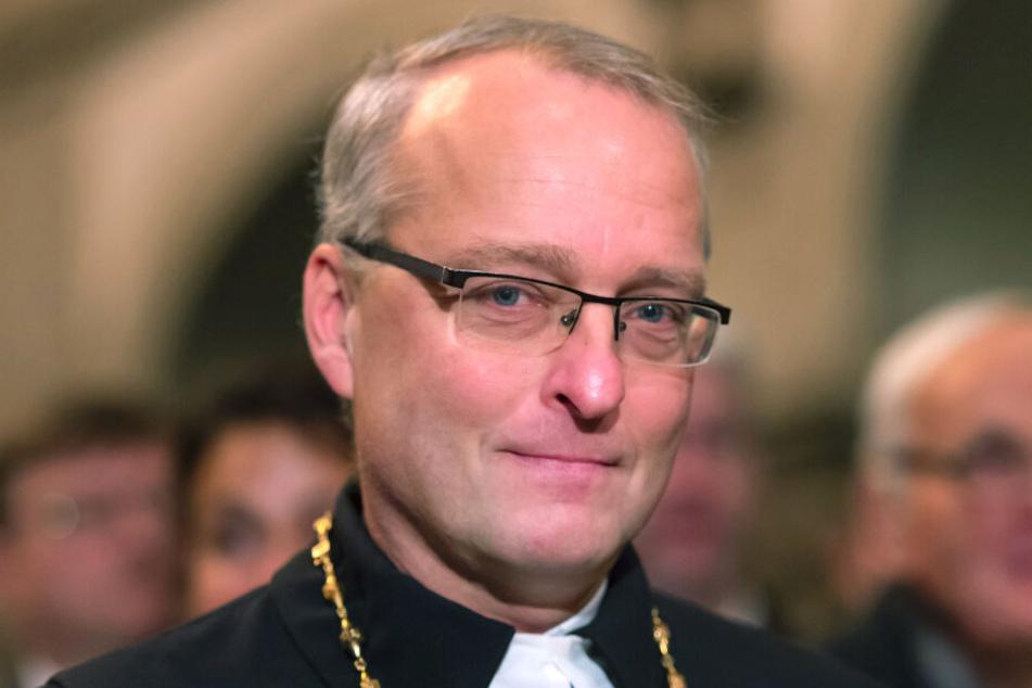 Carsten Rentzing trat vom Amt als Sachsens evangelischer Landesbischof zurück.