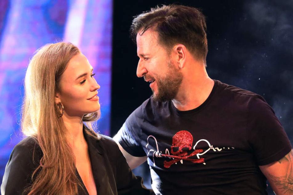 Michael Wendler und seine Freundin Laura Müller.