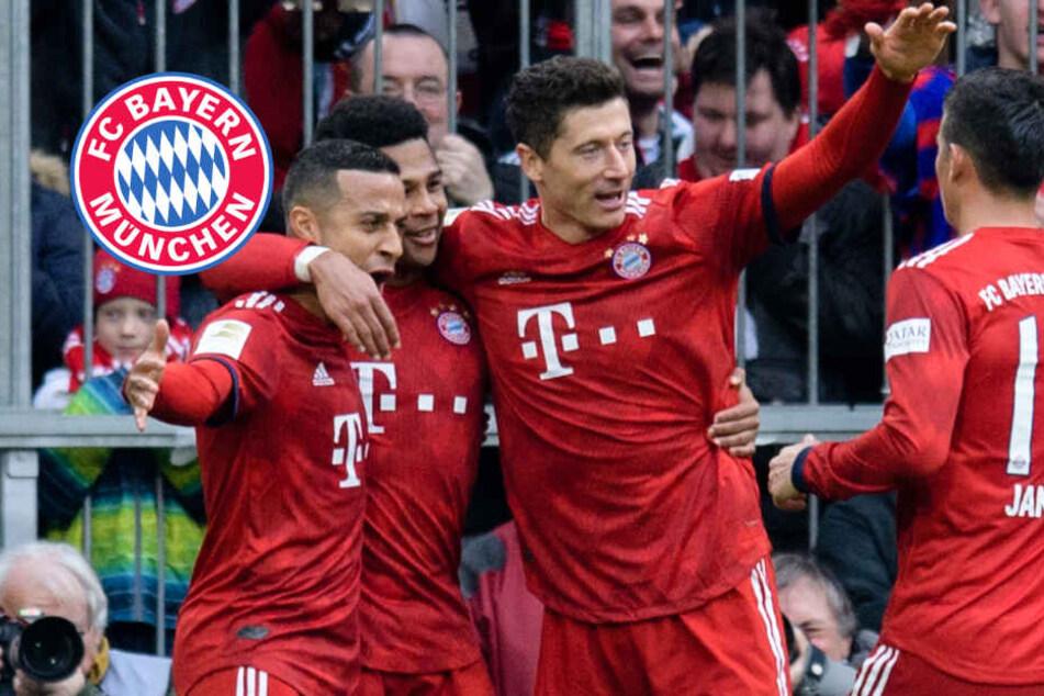 FC Bayern schießt Wolfsburg ab! Lewandowski mit Rekord-Tor