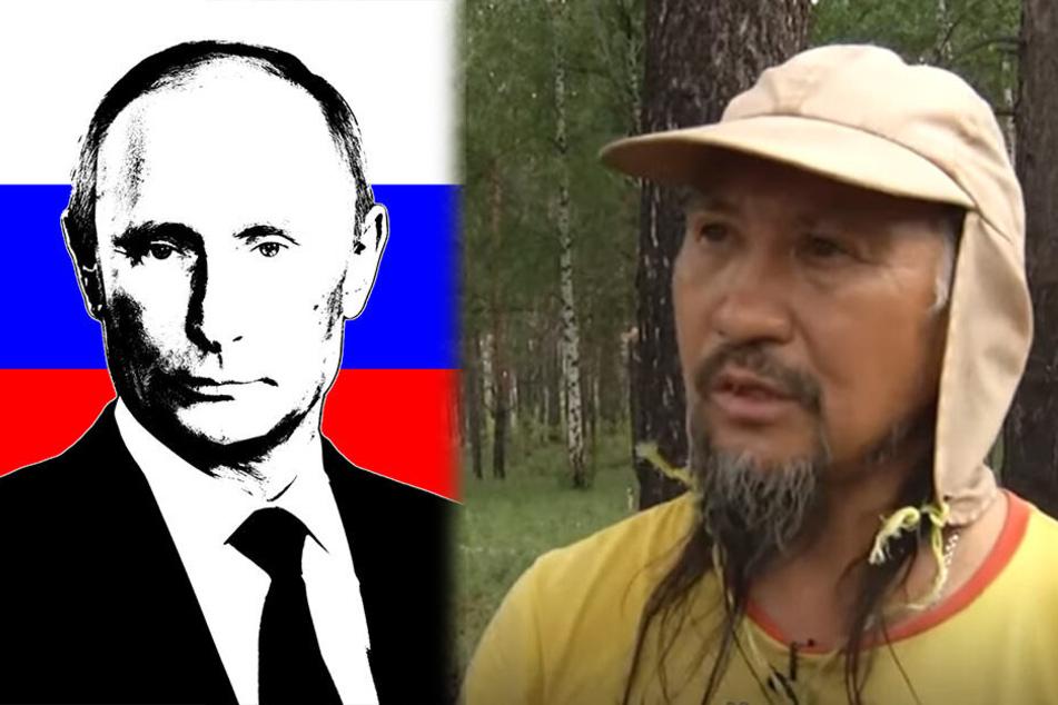 Er würde auch Magie einsetzen, um Putin aus Russland zu vertreiben, sagte der sibirische Schamane.