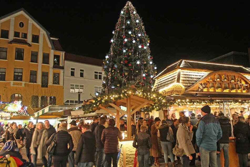 Auf dem Alten Markt befinden sich die besten Plätze des Weihnachtsmarktes.