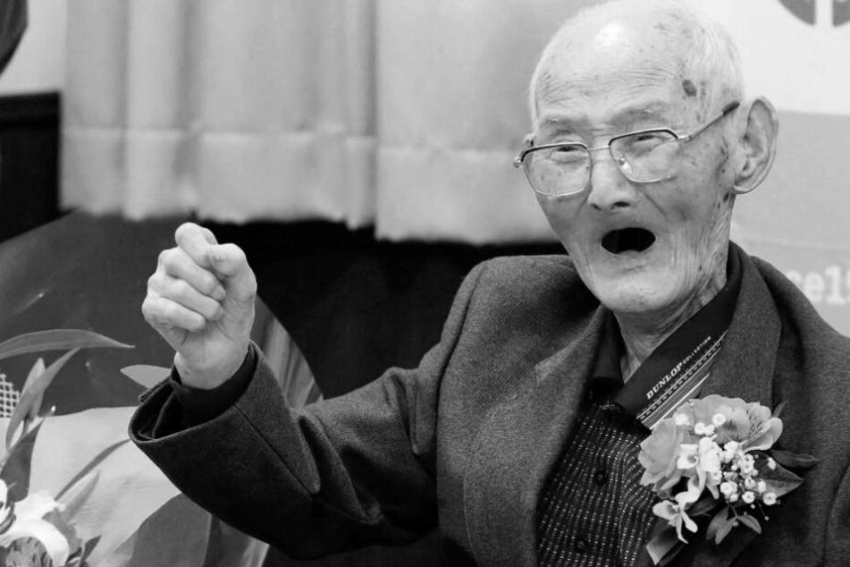 Kurz nach Guinness Buch Eintrag: Ältester Mann der Welt mit 112 Jahren gestorben