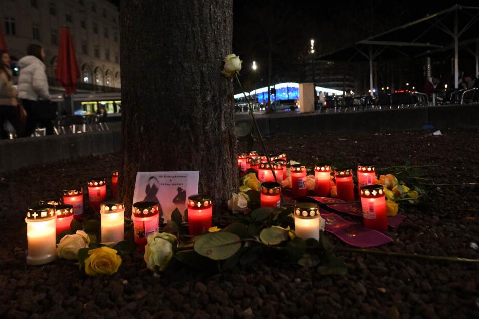 Feuerwehrmann in Augsburg getötet: Frau muss zusehen