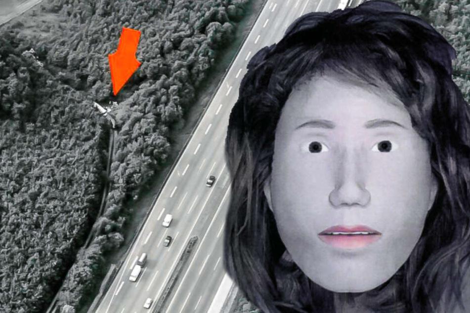 Gruselfund an der Autobahn: Waldarbeiter entdecken skelettierte Frauenleiche