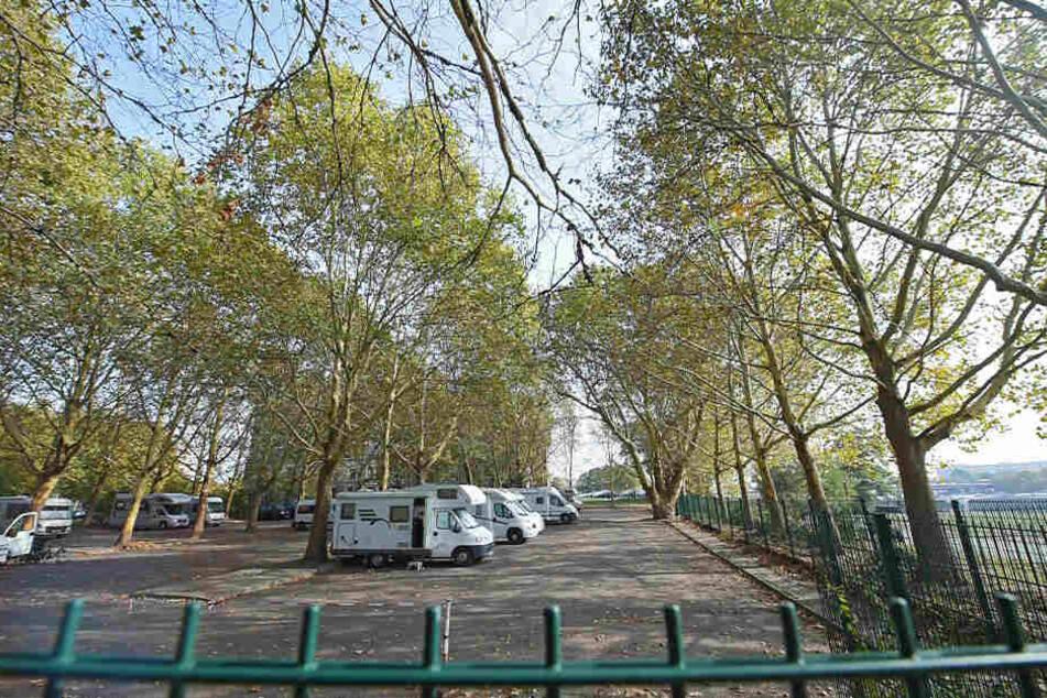 Das Areal an der Wiesentorstraße wird zwangsversteigert. Derzeit befindet sich hier noch der Parkplatz für Wohnmobile.