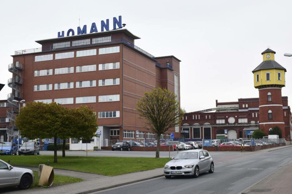Homann-Stammsitz in Dissen (Niedersachsen): EU-Kommissionspräsident  Jean-Claude Juncker (62) soll Fördermittel genau prüfen.
