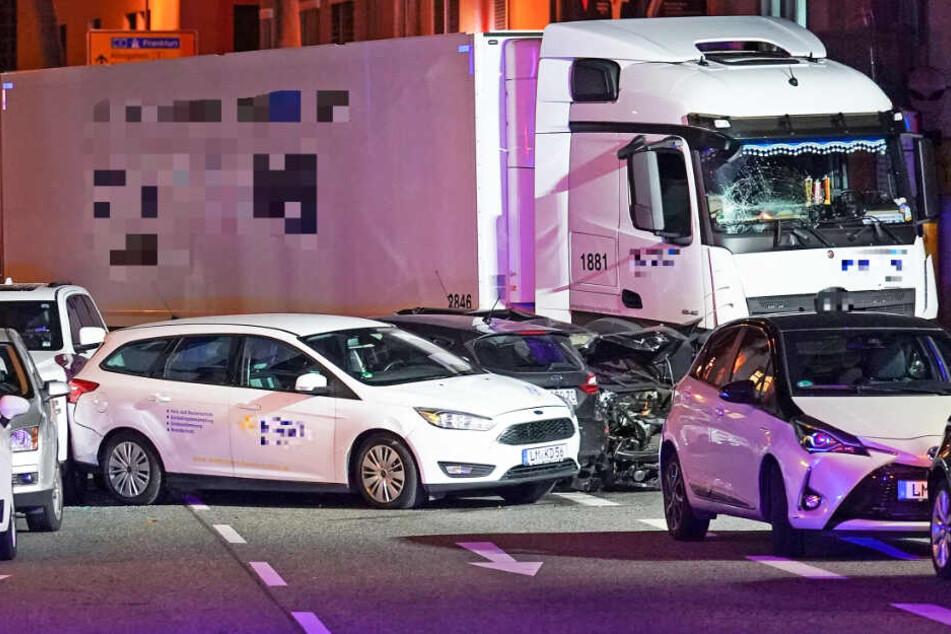 Die Lastwagen-Attacke in Limburg ereignete sich am 7. Oktober 2019.