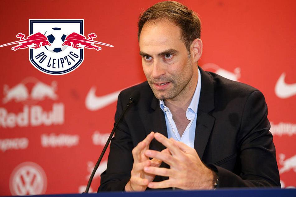 """""""Viel mehr Kommerz als hier kann ich gar nicht finden."""" RB-Vorstandschef Mintzlaff setzte die nächste Spitze Richtung Dortmund."""