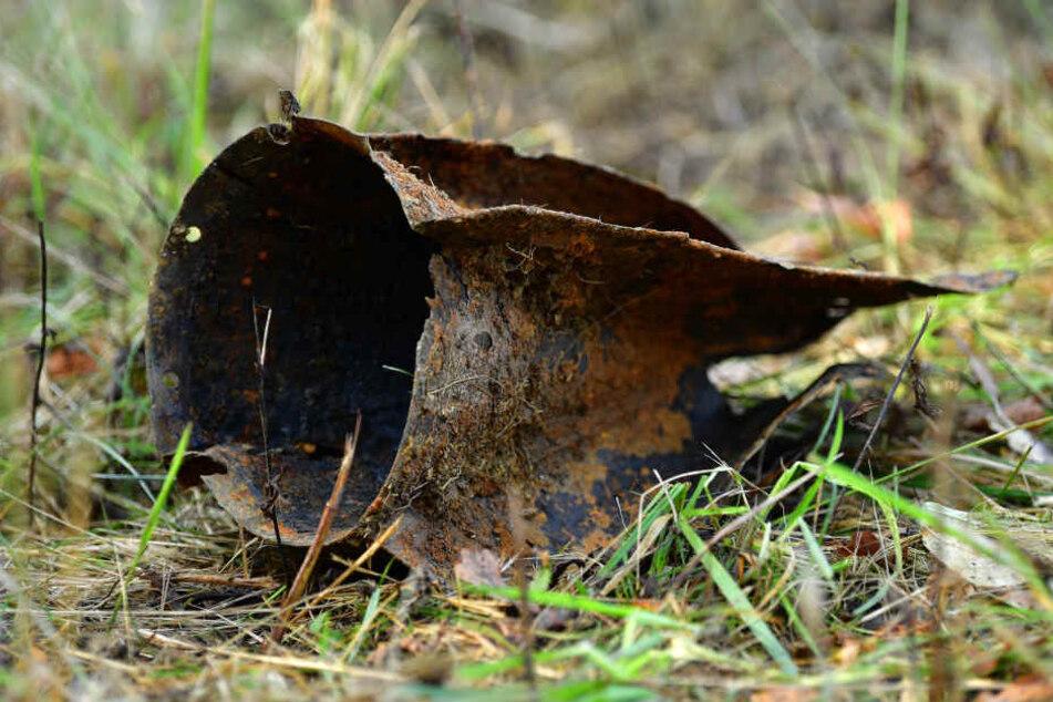 Wie hier in Bechstedt-Wagd werden immer wieder Überbleibsel aus dem zweiten Weltkrieg gefunden.