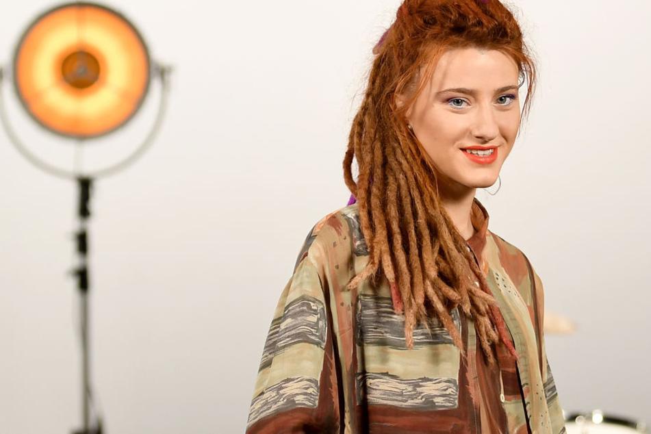 """Die Sängerin und Gewinnerin der Fernsehshow """"The Voice of Germany"""": Natia Todua."""
