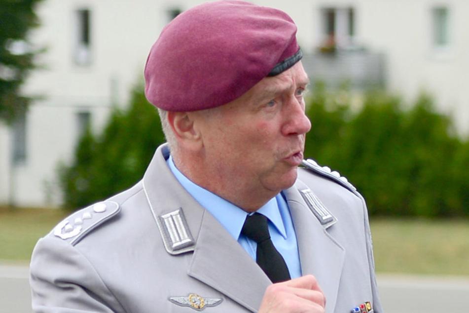 Oberst Norbert Reinelt hat sich zur geplanten Gebietsreform geäußert.