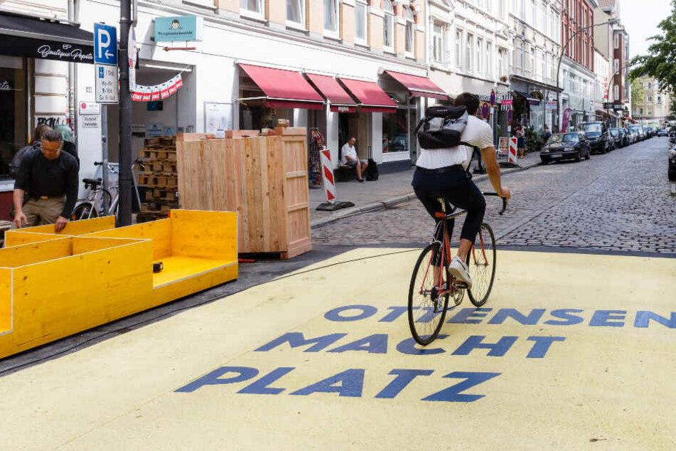 Rund um den Spritzenplatz gab es seit September eine autofreie Zone. (Archivbild)