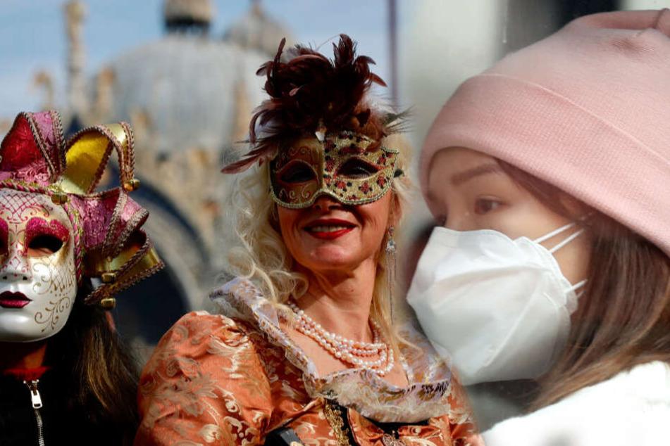 76 Infektionen: Karneval in Venedig wegen Coronavirus abgesagt