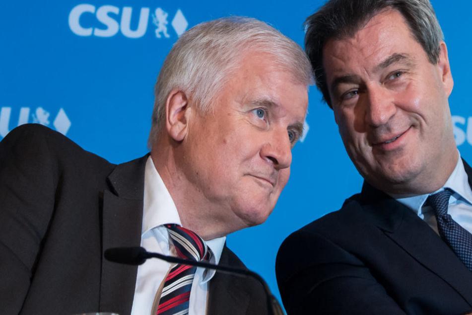 Die CSU befindet sich vor der Landtagswahl 2018 in Bayern im Umfragetief.