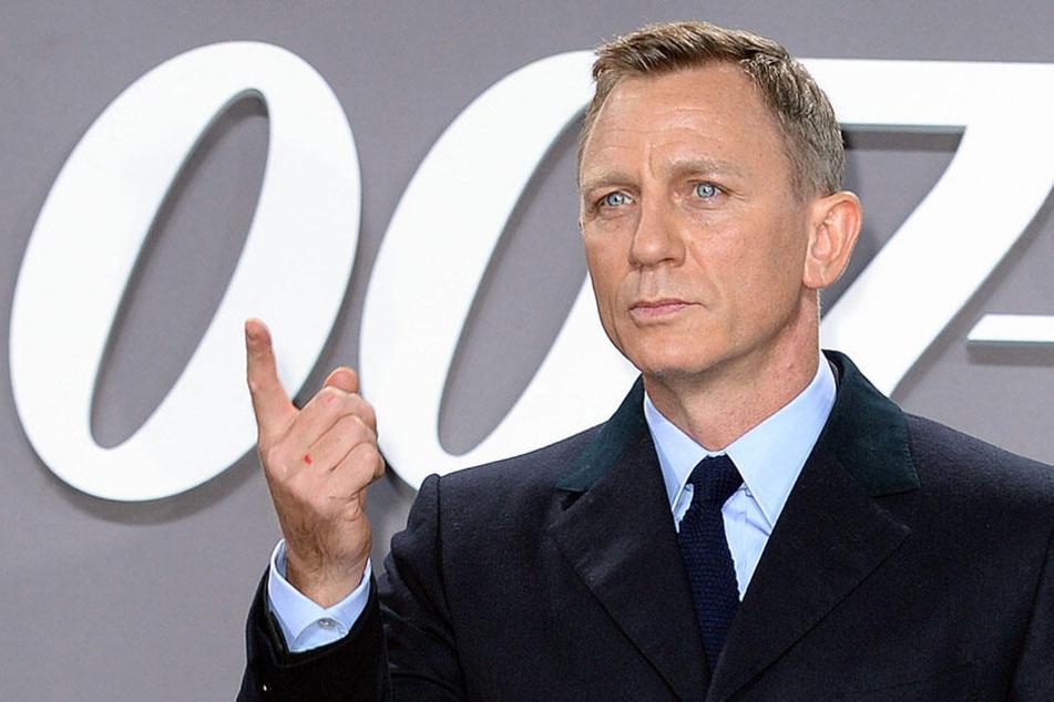 Daniel Craig muss James-Bond-Dreh unterbrechen