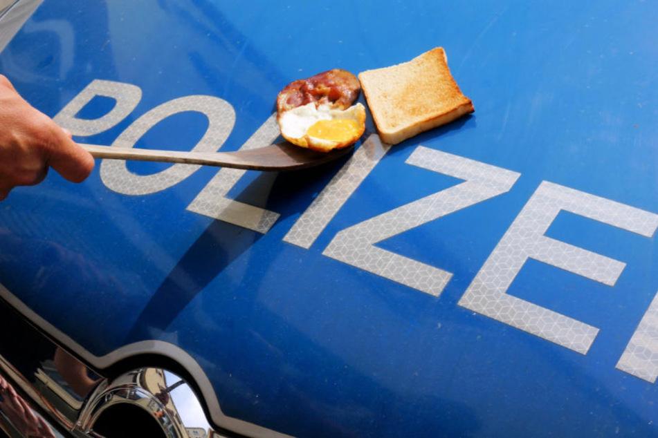 Auf der blank polierten Motorhaube kann man bei den Temperaturen auch gepflegt sein Frühstück zubereiten.