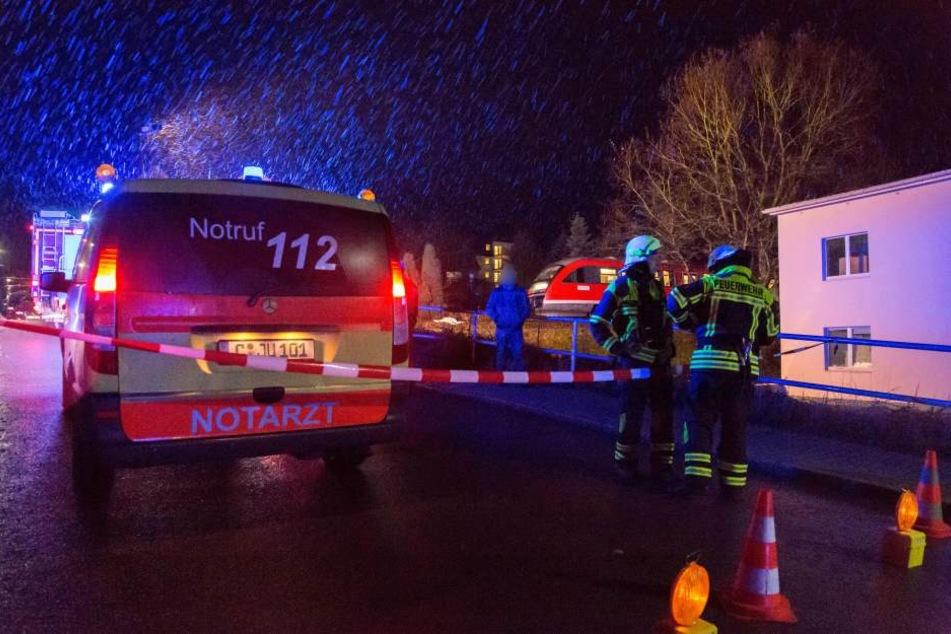 Die Strecke Chemnitz-Aue musste aufgrund eines tödlichen Unfalls gesperrt werden.