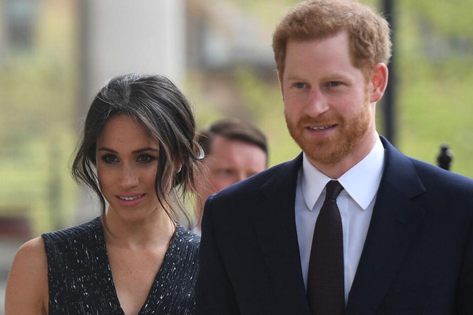 Prinz Harry und Herzogin Meghan 2018 in London.