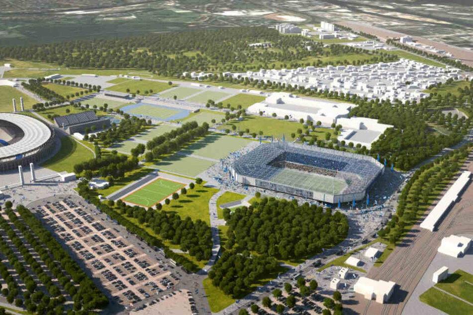 Der Stadion-Neubau gilt seit Jahren als einer der fragilsten Themen im Hertha-Kosmos.