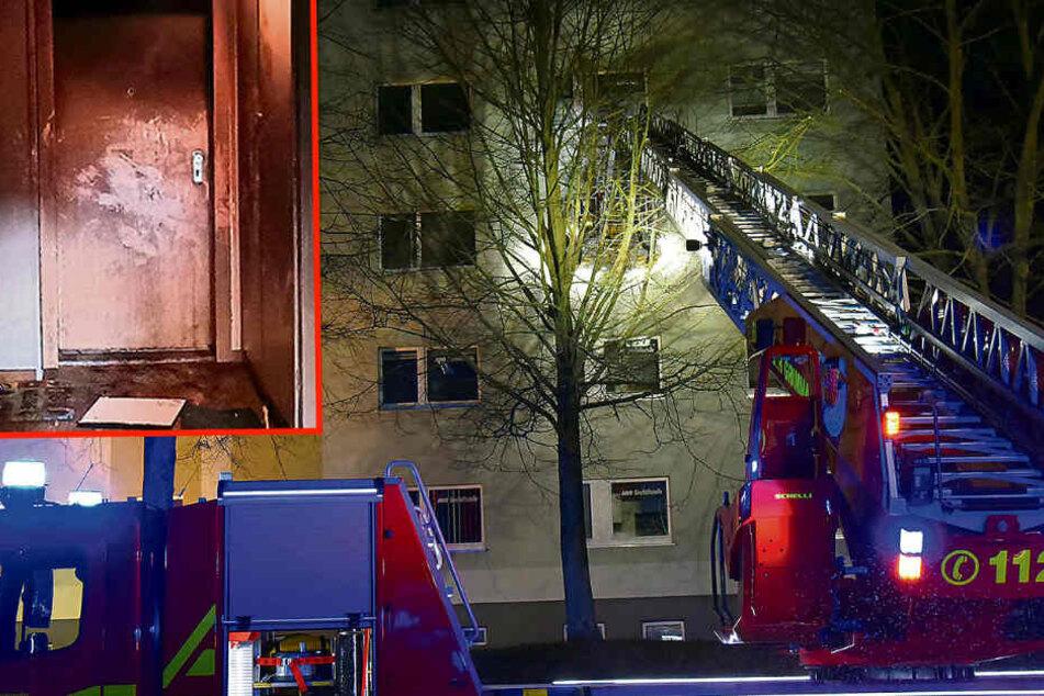 Stephanie (†32) und Paulina (†8) schafften es bei Feuer-Tragödie in Sachsen nur bis zur Wohnungstür