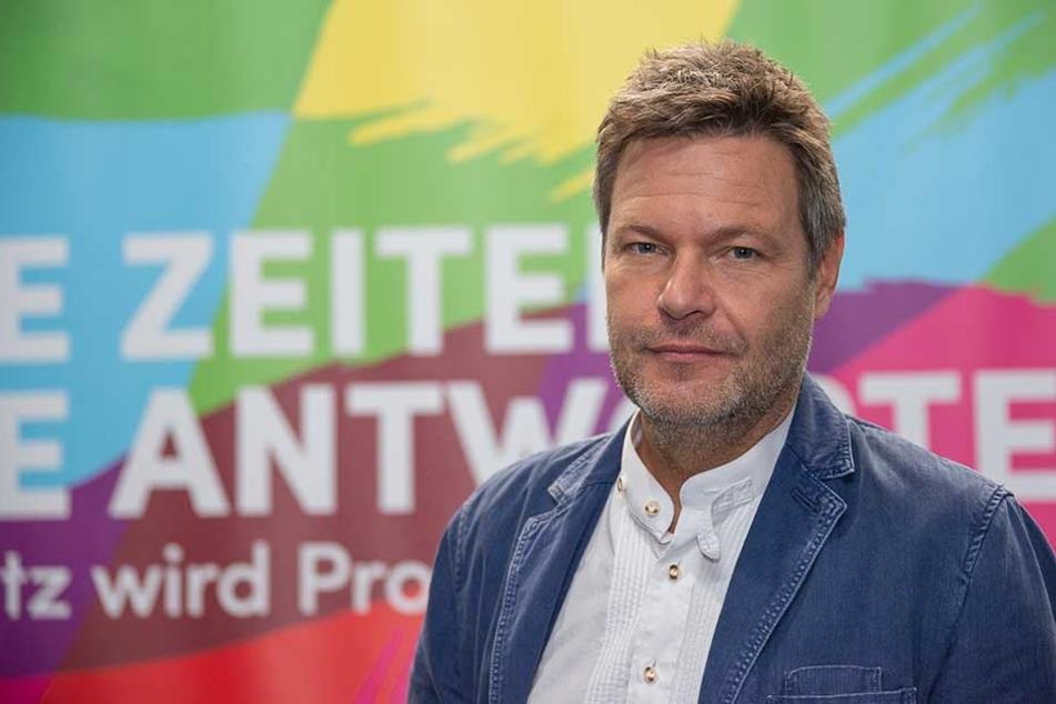 Grünen-Chef Robert Habeck (49).