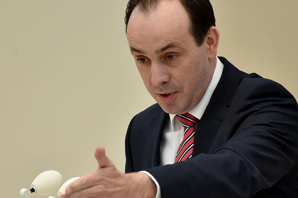 """Brandenburgs CDU-Landeschef Ingo Senftleben befürchtet einen """"Flächenbrand""""."""