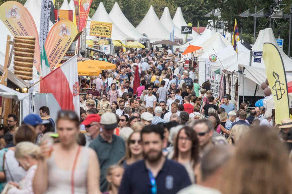 Bestens besucht: Das Museumsuferfest bot auch in diesem Jahr ein kunterbuntes Angebot an Kultur auf.